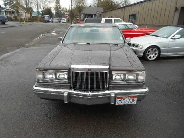 1982 Lincoln Continental Base