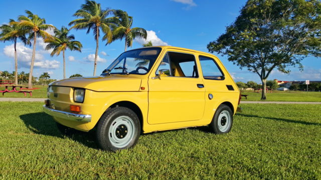 1982 Other Makes POLSKI FIAT 126P 650E