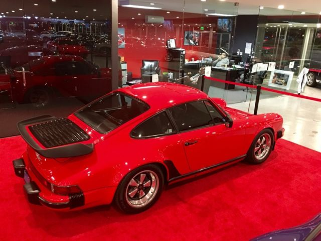 1982 Porsche 911 SC Coupe Original Whale Tail With Sunroof