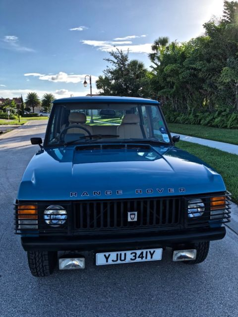 1982 Land Rover Range Rover Leather