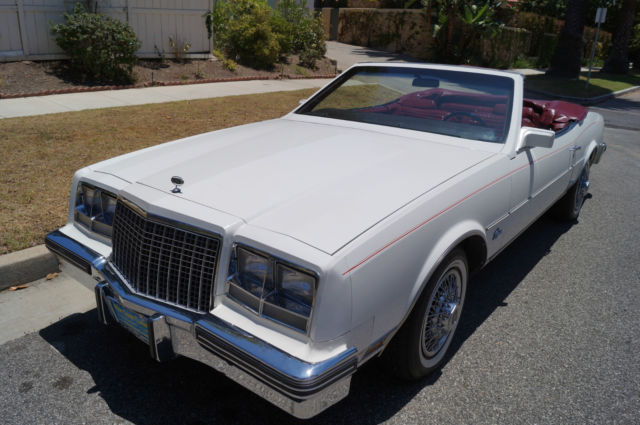 1982 Buick Riviera CONVERTIBLE WITH 18K ORIGINAL MILES!