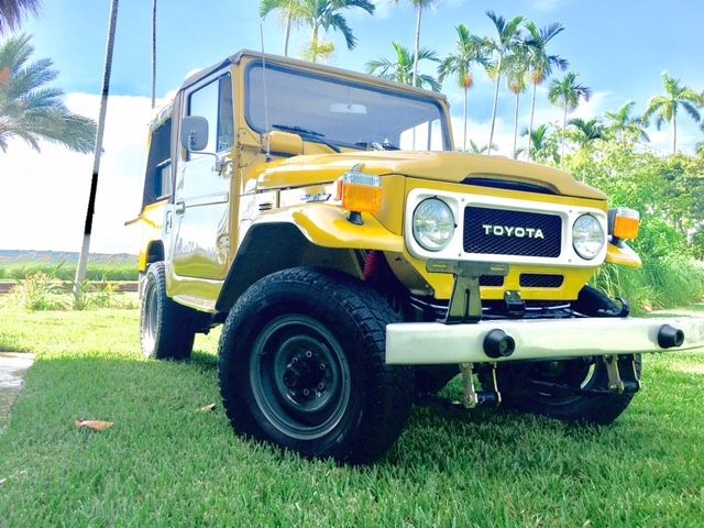 1982 Toyota Land Cruiser BASE SPORT UTILITY 2D