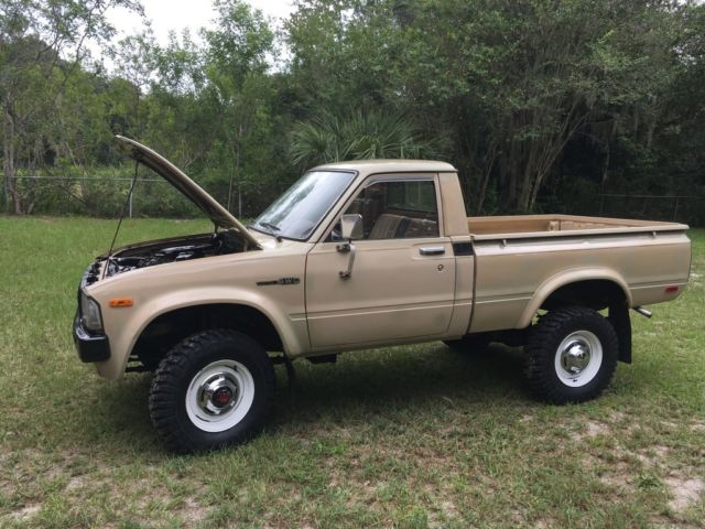 1982 Toyota Pickup Truck 4x4 Short Bed For Sale Photos Technical