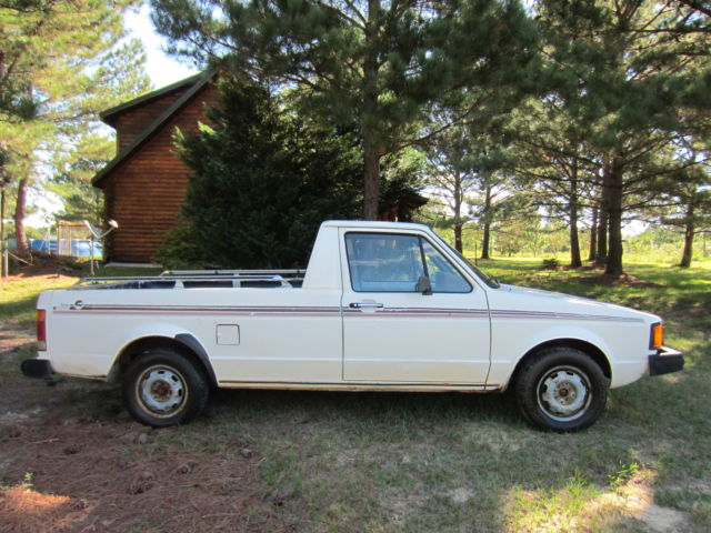 1982 volkswagen diesel rabbit pickup for sale photos technical specifications description. Black Bedroom Furniture Sets. Home Design Ideas