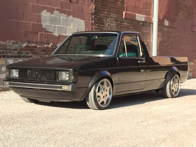 1982 Volkswagen Rabbit Pickup Caddy Show Truck Perfect