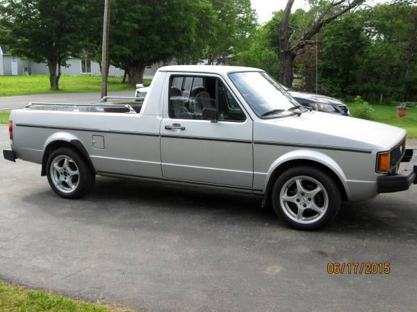 1982 volkswagen rabbit pickup vw caddy truck runs drives great new inspection for sale photos. Black Bedroom Furniture Sets. Home Design Ideas