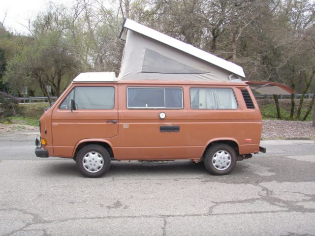 1982 Volkswagen Bus/Vanagon Jetta swapped 1.8 liter motor with 8K, NO RESERVE