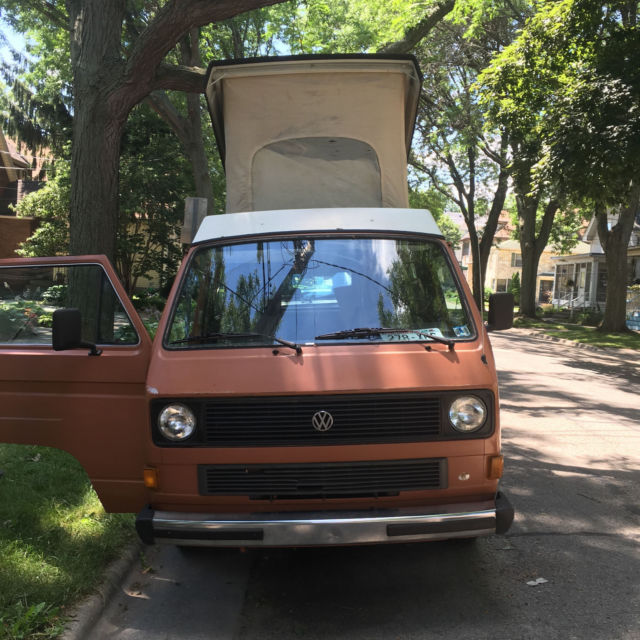 Volkswagen Diesel Cars For Sale: 1982 VW Volkswagen Vanagon Westfalia Diesel For Sale
