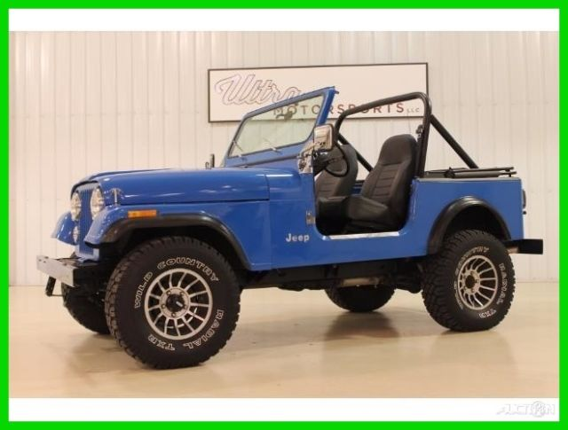 1983 Jeep CJ 2dr