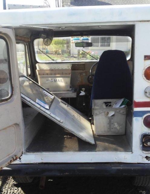 1983 amg jeep dj 5l dj5 mail truck right hand drive post office cj variant for sale photos. Black Bedroom Furniture Sets. Home Design Ideas