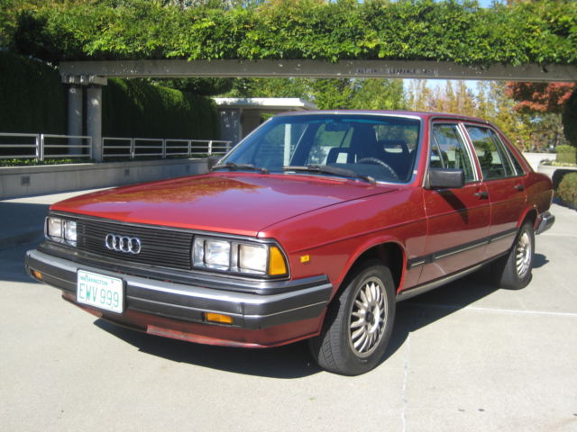 1983 Audi 5000 Turbo 5000 Turbo Fully Loaded