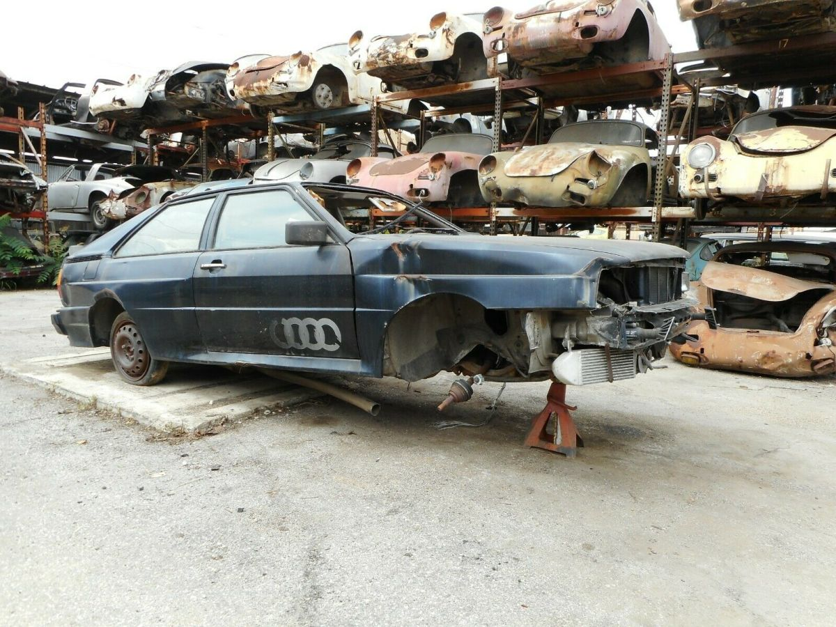 1983 Audi Quattro No Reserve Sold on CA Acquisition Bill of Sale