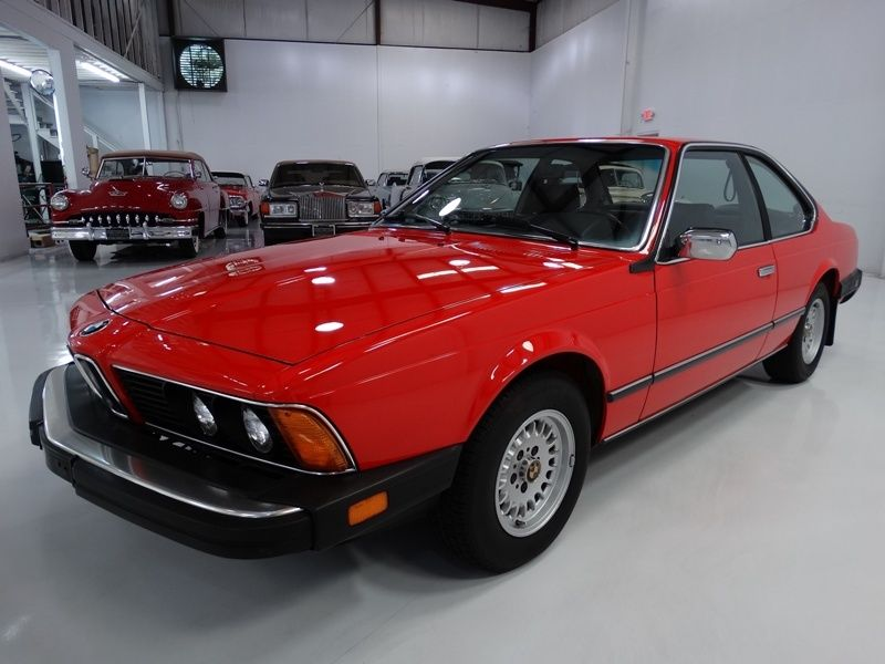 1983 BMW 6-Series ONLY 69,000 ACTUAL MILES! ONE OWNER FROM NEW!