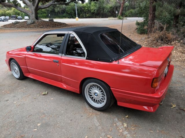 BMW E30 325I TC2 BAUR ALFA RED