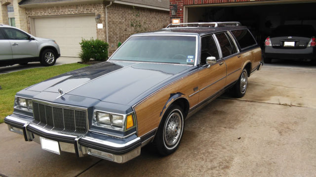 1983 buick electra estate wagon for sale photos technical specifications description. Black Bedroom Furniture Sets. Home Design Ideas