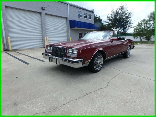 1983 Buick Riviera 1983 BUICK RIVIERA CONVERTIBLE LEATHER POWER TOP CLEAN 97K MI