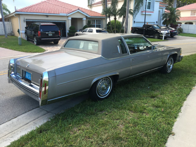 1983 CADILLAC FLEETWOOD BROUGHAM 2 DOOR COUPE for sale photos