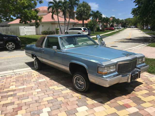1983 cadillac fleetwood brougham 2 door coupe lowrider for sale photos technical specifications description topclassiccarsforsale com