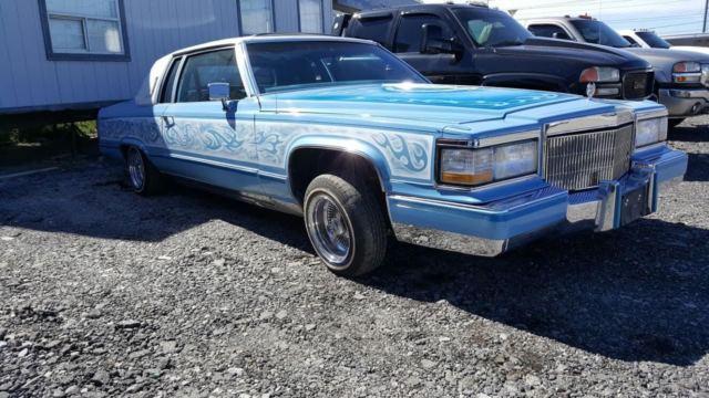 1983 Cadillac Fleetwood Coupe 2 dr Lowrider Custom Hydraulics