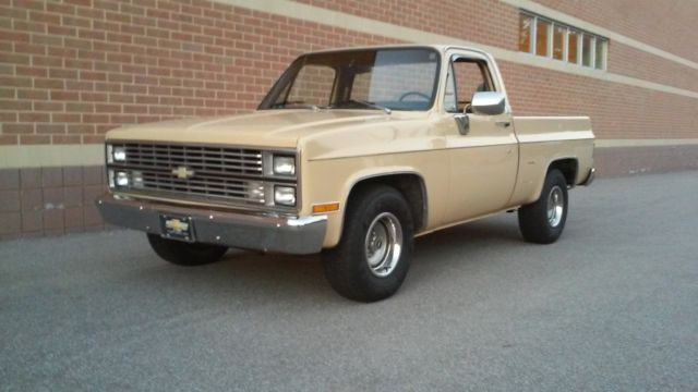 1983 Chevrolet C-10 SILVERADO SHORT BED 43K NO RESERVE