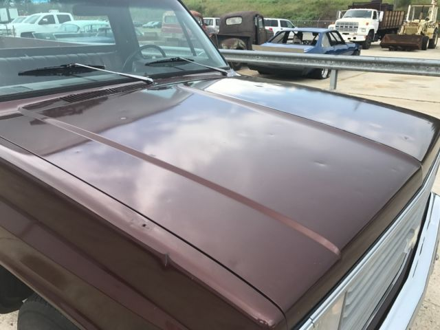 1983 Brown Chevrolet C-10 Standard Cab Pickup with Brown interior