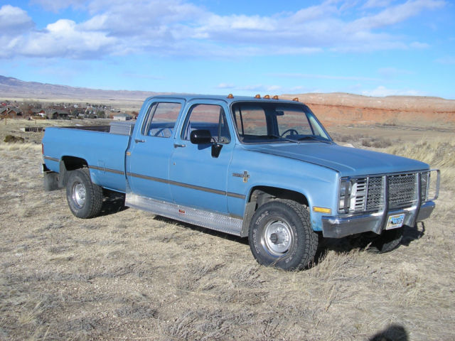 1983 Chevrolet C/K Pickup 3500 Scottsdale