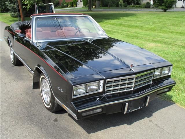 1983 Chevrolet Monte Carlo 2dr Coupe Sp