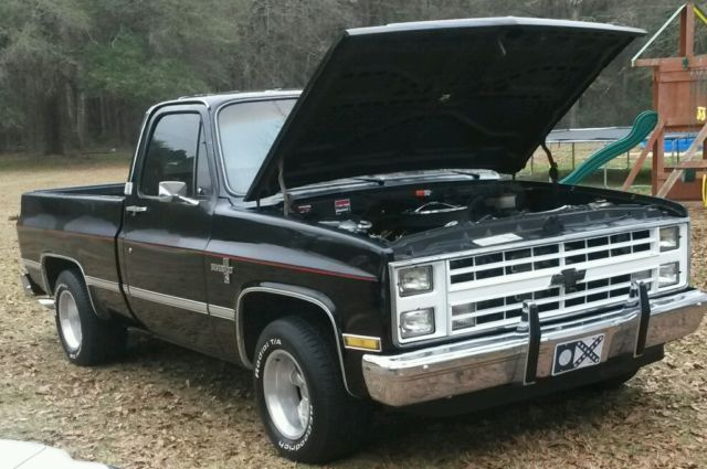 1983 chevrolet silverado c10 pickup truck for sale photos technical specifications description. Black Bedroom Furniture Sets. Home Design Ideas