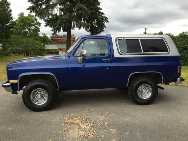1983 chevy blazer 4x4 k5 6 2 diesel silverado blazer removable hardtop very nice for sale. Black Bedroom Furniture Sets. Home Design Ideas