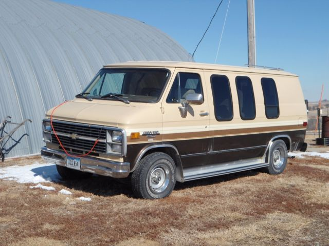 1983 chevy g20 diesel conversion van for sale photos. Black Bedroom Furniture Sets. Home Design Ideas