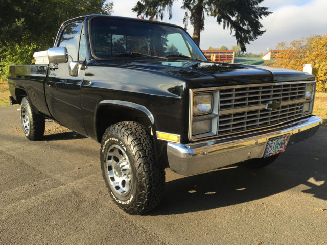 1983 Chevy K20 3/4 ton 4x4 Super clean Chevy Truck! Crate 350 engine