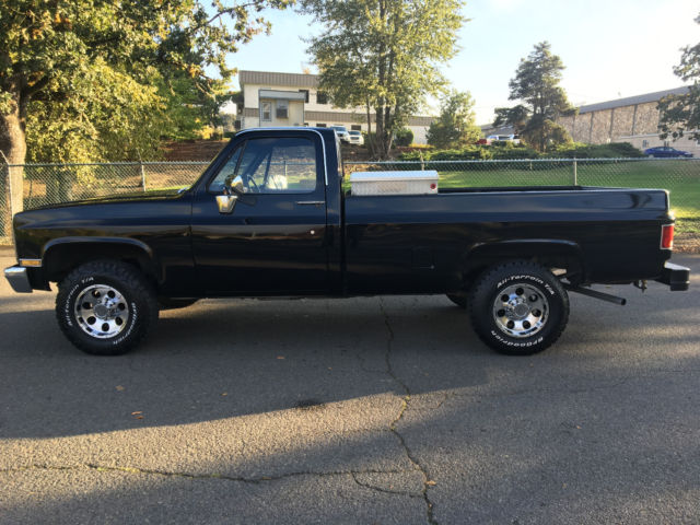 1983 chevy k20 3 4 ton 4x4 super clean chevy truck crate 350 engine zero rust for sale. Black Bedroom Furniture Sets. Home Design Ideas