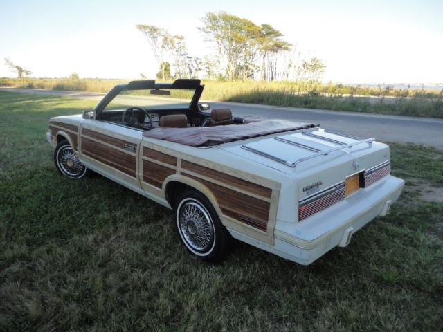 1983 chrysler lebaron convertible for sale