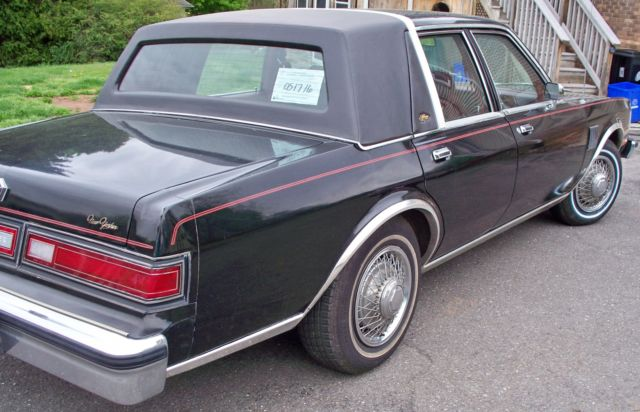 Find used 1983 Chrysler New Yorker NO RESERVE ONLY 51156 ...  |1983 Chrysler New Yorker Interior