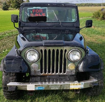 Jeep Cj Parts >> 1983 Cj7 Laredo With 1978 V8 Cj7 Parts Jeep For Sale Photos