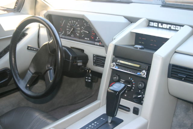 1983 delorean dmc 12 auto 19600mi custom interior a for sale photos technical. Black Bedroom Furniture Sets. Home Design Ideas