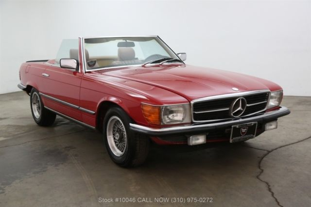 1983 Mercedes-Benz 500-Series Euro