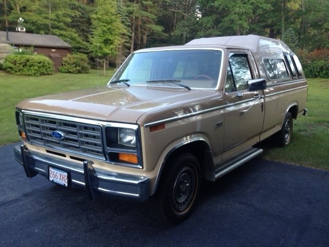 1983 f150 collector quality ford camper set up with leer high cap for sale photos technical. Black Bedroom Furniture Sets. Home Design Ideas