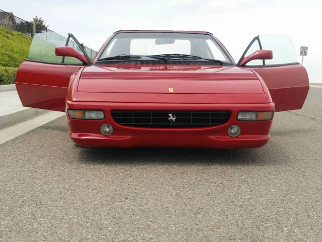 1983 Tan and Black Ferrari Other Convertible with red interior