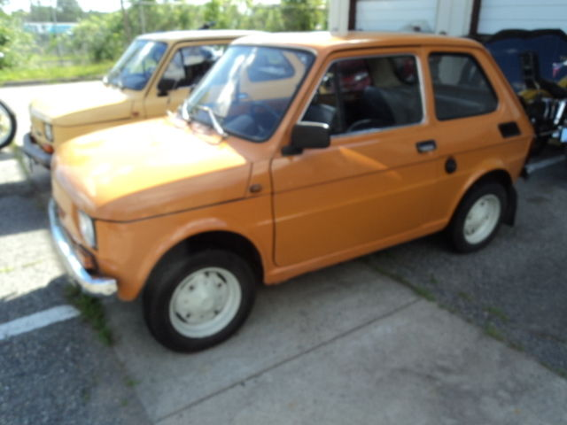 1983 fiat 126 p unique vintage car just imported from poland for sale photos technical. Black Bedroom Furniture Sets. Home Design Ideas