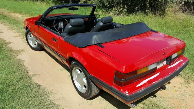 1983 ford mustang gt convertible 5 0l 5 speed beautiful for sale photos technical. Black Bedroom Furniture Sets. Home Design Ideas