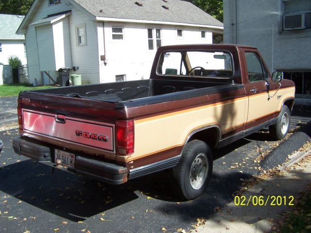 1983 ford ranger 2 3 turbo t5 five speed for sale photos technical specifications description. Black Bedroom Furniture Sets. Home Design Ideas