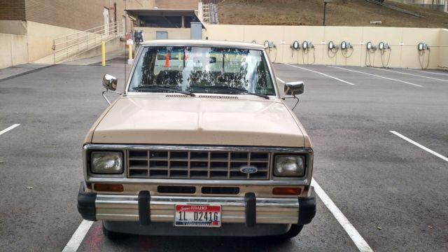 1983 ford ranger xlt with 82 000 miles for sale photos technical specifications description. Black Bedroom Furniture Sets. Home Design Ideas
