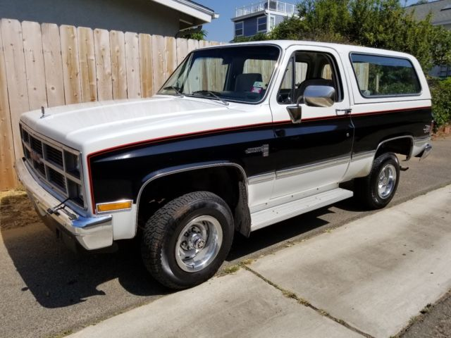 1983 GMC Jimmy BEAUTIFUL ORIGINAL JIMMY SIERRA CLASSIC