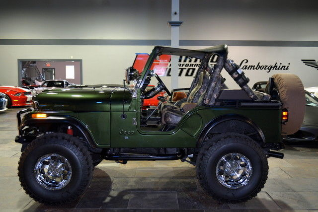 1983 jeep cj5 custom v8 nut and bolt build over 40k for Cj custom homes