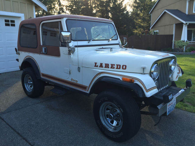 1983 Jeep CJ CJ5 CJ7 CJ8 AMC Laredo Renegade
