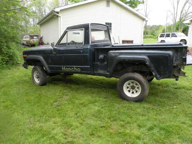 1983 jeep j10 sportside honcho pickup truck mud project rock crawler step side for sale photos. Black Bedroom Furniture Sets. Home Design Ideas