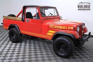 1983 Jeep CJ CJ8. Frae off restored. V8!