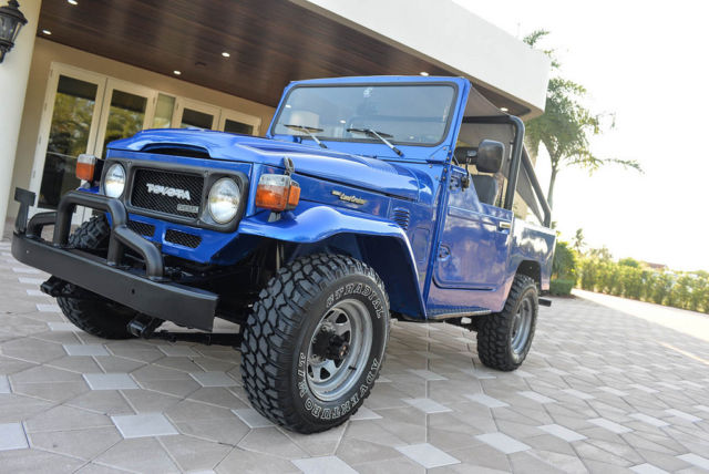 1983 Toyota Land Cruiser SOFT TOP BJ42 4x4 SEE VIDEO!!