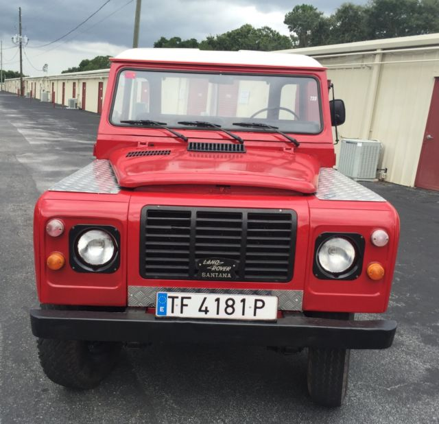 1983 Land Rover Defender Santana 109 PU Diesel 4x4 For